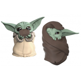 STAR WARS THE MANDALORIAN - THE CHILD BABY YODA SIPPING SOUP AND BLANKET 2-PACK ACTION FIGURE HASBRO