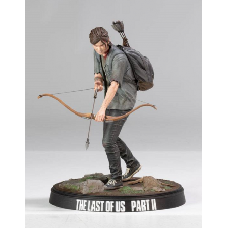 THE LAST OF US PART II - ELLIE WITH BOW 20CM STATUE FIGURE