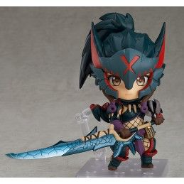 GOOD SMILE COMPANY MONSTER HUNTER WORLD ICEBORNE - FEMALE NARGACUGA ALPHA ARMOR VER. NENDOROID ACTION FIGURE