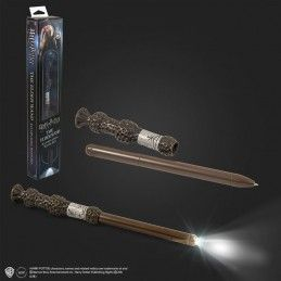 HARRY POTTER - DUMBLEDORE SILENTE ILLUMINATING WAND PEN (PENNA BACCHETTA) NOBLE COLLECTIONS