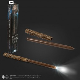 HARRY POTTER - HERMIONE ILLUMINATING WAND PEN (PENNA BACCHETTA) NOBLE COLLECTIONS