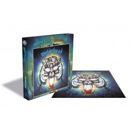 ZEE PRODUCTIONS MOTORHEAD OVERKILL 500 PIECES PEZZI JIGSAW PUZZLE 39X39 CM