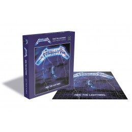 METALLICA RIDE THE LIGHTNING 500 PIECES PEZZI JIGSAW PUZZLE 39X39 CM ZEE PRODUCTIONS