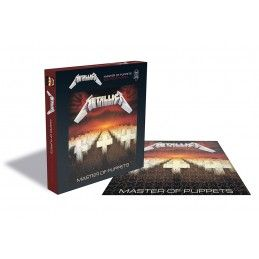 METALLICA MASTER OF PUPPETS 500 PIECES PEZZI JIGSAW PUZZLE 39X39 CM ZEE PRODUCTIONS