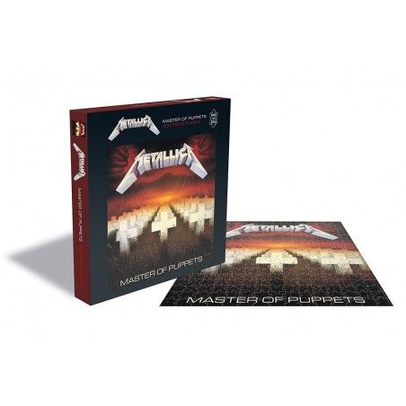 METALLICA MASTER OF PUPPETS 500 PIECES PEZZI JIGSAW PUZZLE 39X39 CM