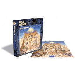 IRON MAIDEN POWERSLAVE 500 PIECES PEZZI JIGSAW PUZZLE 39X39 CM ZEE PRODUCTIONS