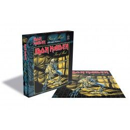 IRON MAIDEN PIECE OF MIND 500 PIECES PEZZI JIGSAW PUZZLE 39X39 CM ZEE PRODUCTIONS