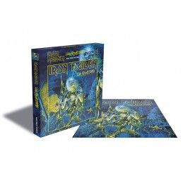 IRON MAIDEN LIVE AFTER DEATH 500 PIECES PEZZI JIGSAW PUZZLE 39X39 CM ZEE PRODUCTIONS