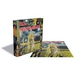 ZEE PRODUCTIONS IRON MAIDEN 500 PIECES PEZZI JIGSAW PUZZLE 39X39 CM