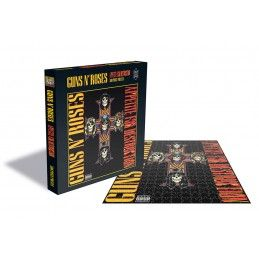 ZEE PRODUCTIONS GUNS N' ROSES APPETITE FOR DESTRUCTION II 500 PIECES PEZZI JIGSAW PUZZLE 39X39 CM