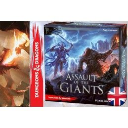 ASSAULT OF THE GIANTS DUNGEONS AND DRAGONS GIOCO DA TAVOLO INGLESE ENGLISH WIZKIDS