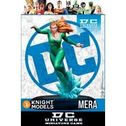 KNIGHT MODELS DC UNIVERSE MINIATURE GAME - MERA MINI RESIN STATUE FIGURE