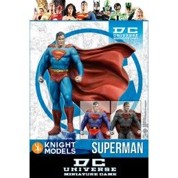 DC UNIVERSE MINIATURE GAME - SUPERMAN MINI RESIN STATUE FIGURE KNIGHT MODELS