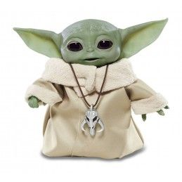 STAR WARS THE MANDALORIAN - THE CHILD BABY YODA ANIMATRONIC EDITION ACTION FIGURE HASBRO
