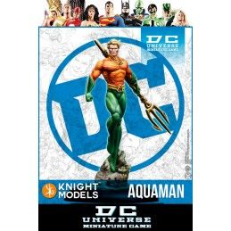DC UNIVERSE MINIATURE GAME - AQUAMAN MINI RESIN STATUE FIGURE KNIGHT MODELS