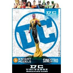 KNIGHT MODELS DC UNIVERSE MINIATURE GAME - SINESTRO MINI RESIN STATUE FIGURE
