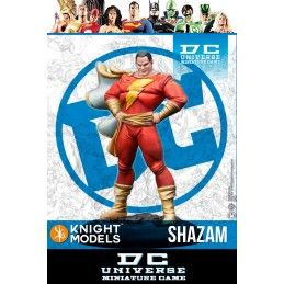 DC UNIVERSE MINIATURE GAME - SHAZAM MINI RESIN STATUE FIGURE KNIGHT MODELS