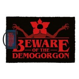 STRANGER THINGS - BEWARE OF THE DEMOGORGON DOORMAT ZERBINO 40X60CM PYRAMID INTERNATIONAL