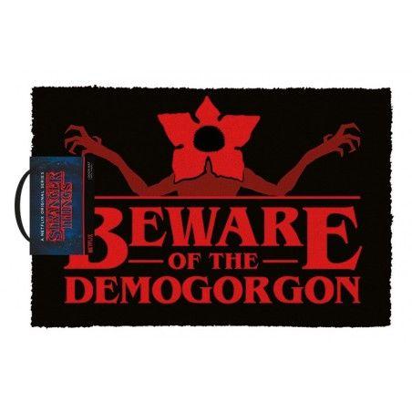 STRANGER THINGS - BEWARE OF THE DEMOGORGON DOORMAT ZERBINO 40X60CM