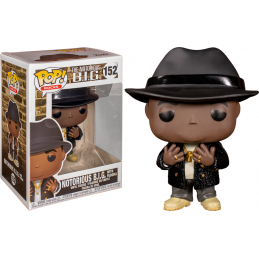 FUNKO FUNKO POP! NOTORIOUS B.I.G. BOBBLE HEAD KNOCKER