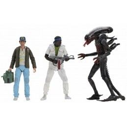 NECA ALIEN 40TH ANNIVERSARY SERIES 2 SET 3X ACTION FIGURE