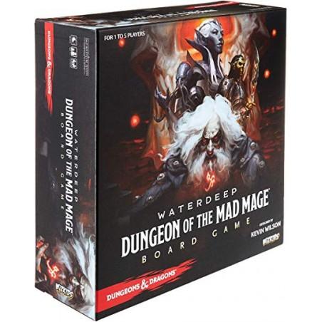 WATERDEEP DUNGEON OF THE MAD MAGE BOARDGAME GIOCO DA TAVOLO INGLESE ENGLISH