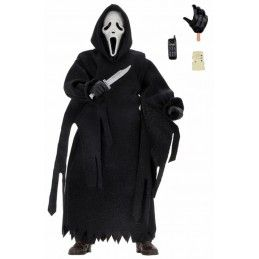 NECA SCREAM GHOSTFACE UPDATED CLOTHED 20CM ACTION FIGURE