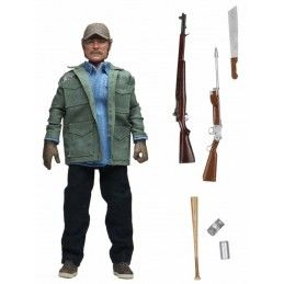 NECA JAWS LO SQUALO - SAM QUINT CLOTHED 20CM ACTION FIGURE