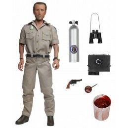 JAWS LO SQUALO - CHIEF MARTIN BRODY CLOTHED 20CM ACTION FIGURE NECA