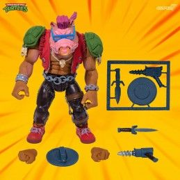 TMNT TEENAGE MUTANT NINJA TURTLES ULTIMATES BEBOP ACTION FIGURE SUPER7