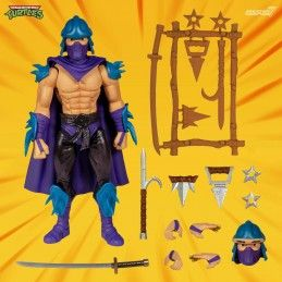TMNT TEENAGE MUTANT NINJA TURTLES ULTIMATES EVIL SHREDDER ACTION FIGURE SUPER7