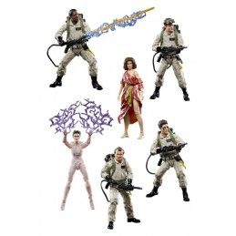 GHOSTBUSTERS PLASMA SERIES - SET COMPLETO 6X ACTION FIGURE HASBRO