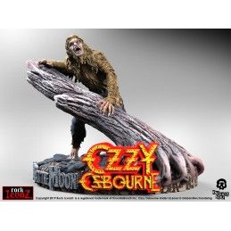 KNUCKLEBONZ ROCK ICONZ OZZY OSBOURNE BARK MOON STATUE