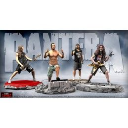 KNUCKLEBONZ ROCK ICONZ - PANTERA FULL SET 4X STATUE 20 CM RESIN FIGURE