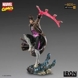 X-MEN - GAMBIT BDS ART SCALE 1/10 25CM STATUE FIGURE IRON STUDIOS