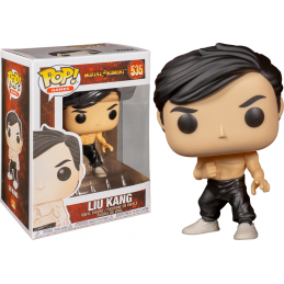 FUNKO POP! MORTAL KOMBAT - LIU KANG BOBBLE HEAD FIGURE FUNKO