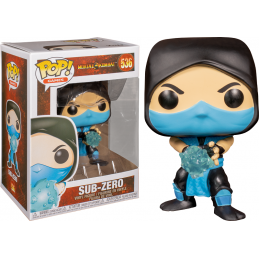FUNKO FUNKO POP! MORTAL KOMBAT - SUB-ZERO BOBBLE HEAD FIGURE
