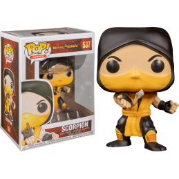FUNKO FUNKO POP! MORTAL KOMBAT - SCORPION BOBBLE HEAD FIGURE