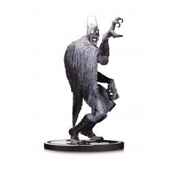 DC COLLECTIBLES BATMAN BLACK AND WHITE BATMONSTER BY CAPULLO 18CM RESIN STATUE FIGURE