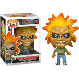 FUNKO POP! IRON MAIDEN - SKELETON EDDIE BOBBLE HEAD FIGURE FUNKO