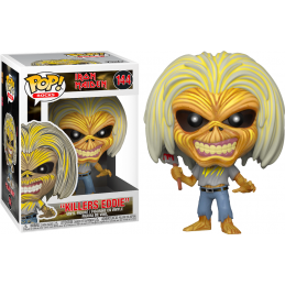 FUNKO FUNKO POP! IRON MAIDEN - KILLERS EDDIE BOBBLE HEAD FIGURE