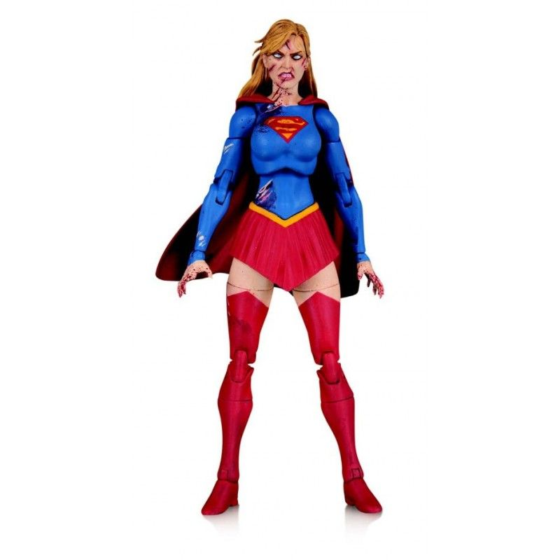 DC ESSENTIALS - DCEASED SUPERGIRL ACTION FIGURE DC COLLECTIBLES