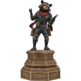 DIAMOND SELECT AVENGERS ENDGAME - ROCKET RACOON GALLERY 18CM FIGURE STATUE
