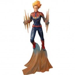 DIAMOND SELECT CAPTAIN MARVEL BINARY GALLERY 27CM FIGURE STATUE