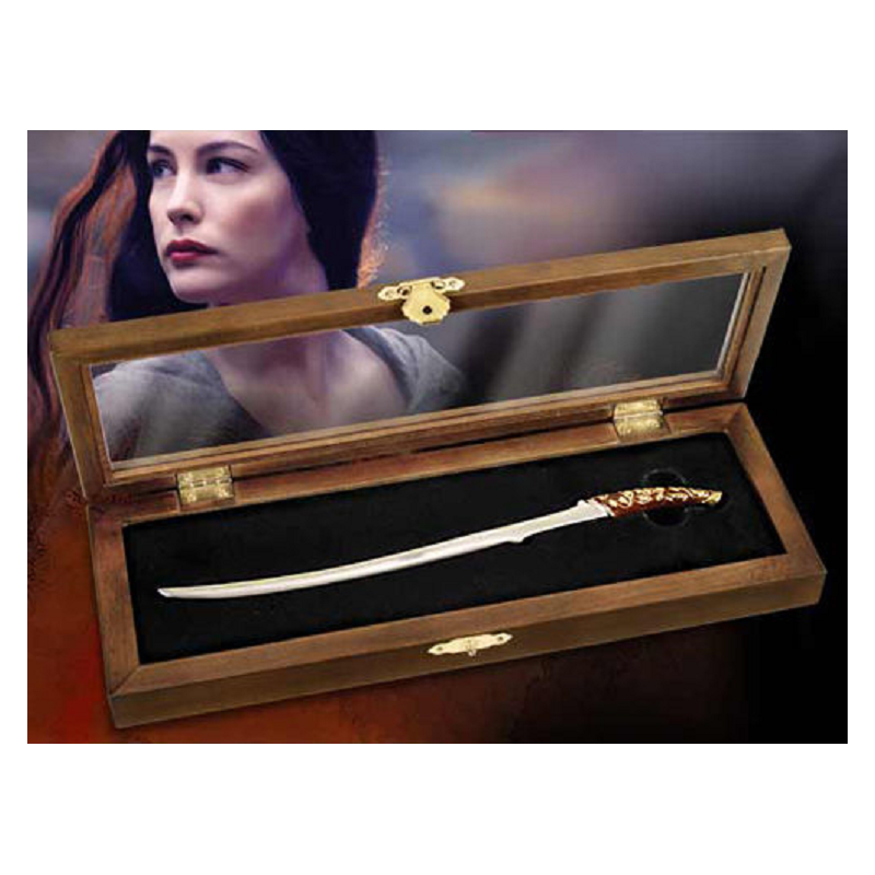 THE LORD OF THE RINGS - ARWEN HADHAFANG LETTER OPENER REPLICA NOBLE COLLECTIONS