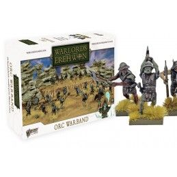 WARLORDS OF EREHWON ORC WARBAND SET MINIATURES WARLORD GAMES