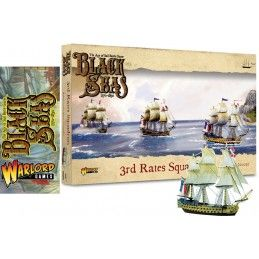 BLACK SEAS - 3RD RATES SQUADRON SET MINIATURES WARLORD GAMES