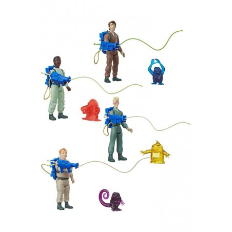 THE REAL GHOSTBUSTERS KENNER CLASSICS - SET COMPLETO 4X ACTION FIGURE