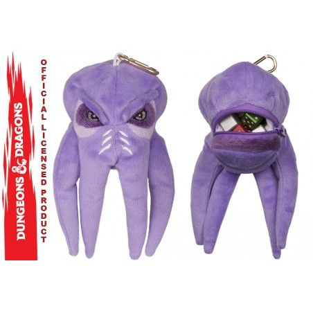 DUNGEONS AND DRAGONS MIND FLAYER PLUSH DICE POUCH FIGURE PELUCHE PORTADADI