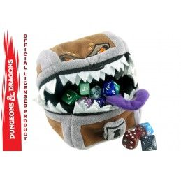 DUNGEONS AND DRAGONS MIMIC PLUSH DICE POUCH FIGURE PELUCHE PORTADADI ULTRA PRO